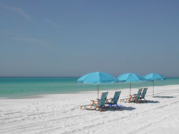 Seacrest Beach townhome rental - Enjoy Crystal Clear Waters, and Sand So Clean and White It Squeaks (really)!