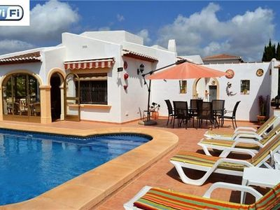 Holiday house for 6 persons, with swimming pool, in Javea