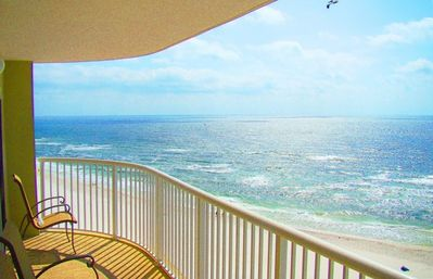 Enjoy Your Private Balcony Overlooking the Gulf