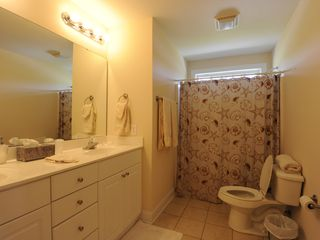 Garden City Beach house photo - Hall bathroom shared by middle bedroom and front bedroom