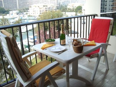 Attractive Studio Apartment with views over Cannes Marina