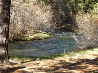 3br cabin vacation rental in old station california for Hat creek fishing