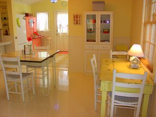 Seagrove Beach house photo - Incredible '50's Main House Kitchen ~ Fully Equipped.