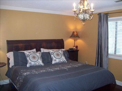 Master Bedroom- King Bed
