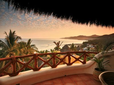 Sayulita house rental - One of many views from the patio