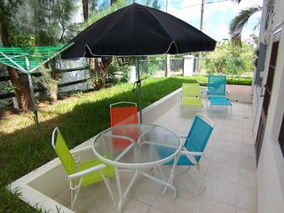 Paynes Bay apartment photo - Patio