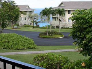 Princeville condo photo - Ocean view from lanai - watch whales in season and hear the ocean