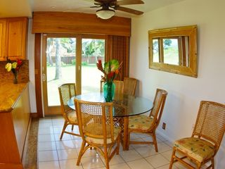Kailua house photo - breakfast table by kitchen