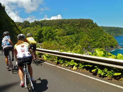 Hana Highway is one of the most scenic road bike rides on the planet!