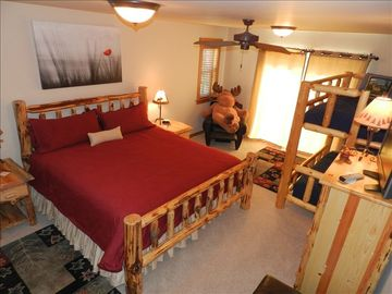 Main Level Master Suite, Private Balcony, Large Bath Jetted Tub, separate shower
