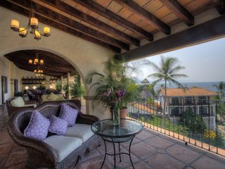Master Floor Seating Area - Puerto Vallarta villa vacation rental photo