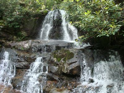Laurel Falls--Smoky Mountain National Park