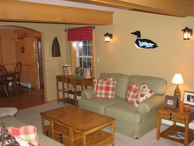 Edwards house rental - Family Room with Satelite TV