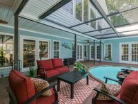 Contemporary 5 Br. Beach Villa Pool Home w/ Hot Tub and Entertainment Area