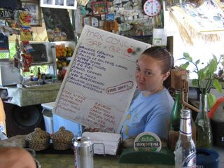 Long Island cottage photo - Yummy island menu at Max's!