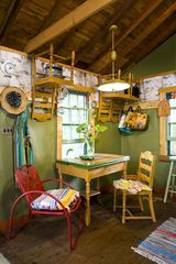 Stanfordville cottage photo - kitchen seating area
