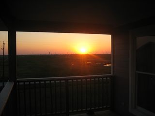 Galveston house photo - Beautiful sunset