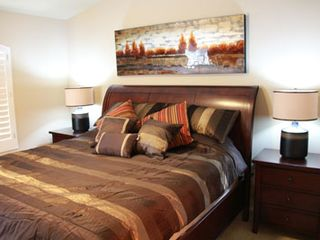 King bed in Master - Mesa townhome vacation rental photo