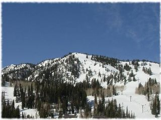 Solitude condo rental - Magnificent mountain view directly from the deck!