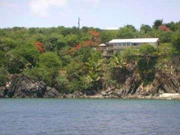 The Property as seen from the bay