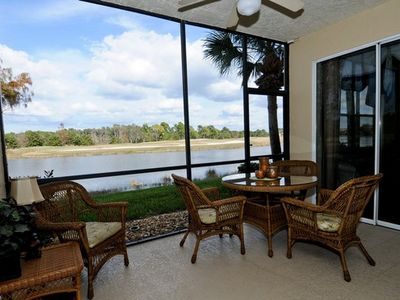 Estero condo rental - It's all about the view!