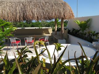 Tulum condo photo - The whole rooftop of the building is your private space to enjoy.
