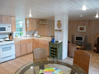 Elbow Cay and Hope Town house photo - Additional downstairs lounge & kitchen