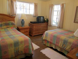 Lake Village house photo - Bedroom 2 with 2 full beds. All new bedspreads and sheets coming June 2012