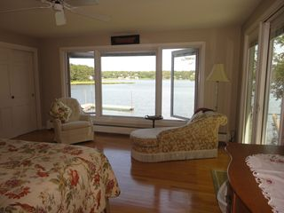 Yarmouth house photo - You feel like your on a boat in the Master Bedroom!