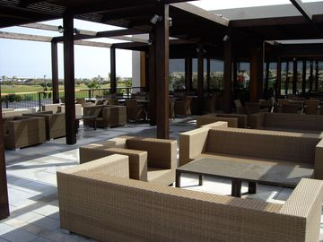Outside Seating At Golf Club