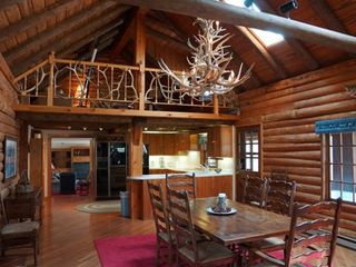 Minocqua cabin photo - Great Room