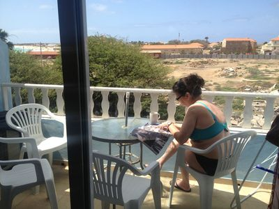 front line, sea view, 15m to beach