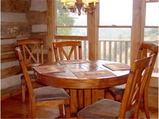 Todd cabin photo - Dining Room