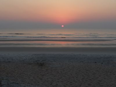 Take a stroll & enjoy the sunset over our beach just 2 min. from the house!