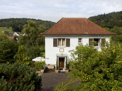 Bishops Rest, Two exclusive river front Apartments with  gardens near Porrentruy