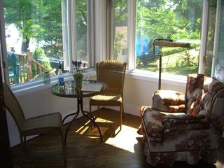 Sitting Area Overlooking Seneca Lake - Dresden cottage vacation rental photo