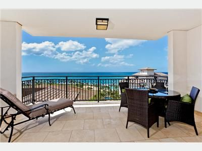 Ko Olina villa rental - Lanai with Fantastic Panoramic Ocean Views