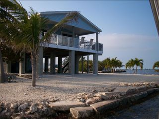 Big Pine Key house photo - Yard Surrounded by Ocean