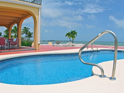 Sugarloaf Key house rental - Enjoy the stunning ocean view as you lounge around this magnificent pool.