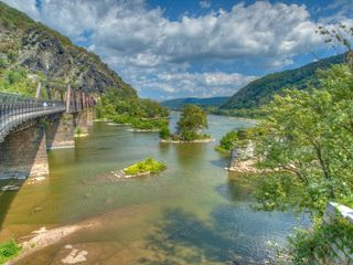 Harpers Ferry house photo - Confluence of Potomac and Shenandoah Rivers Harpers Ferry, WV