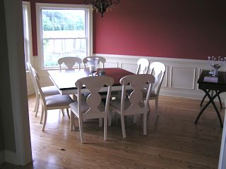 Cape Charles house photo - Dining Room - There is additional Eating Space in the Eat-In Kitchen