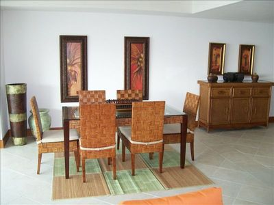 Ixtapa condo rental - dining area
