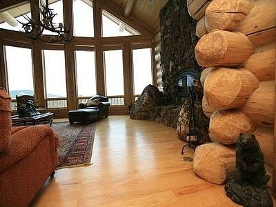 Great Room with view of the Continental Divide