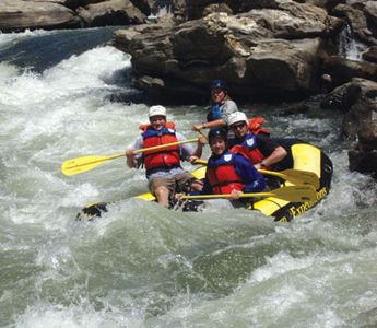 Nearby Rafting on the Chatooga River