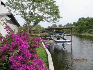 Tavares house photo - Canal view