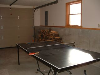 Bethel house photo - ping pong in heated garage