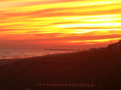 Beautiful sunsets at Holden Beach!