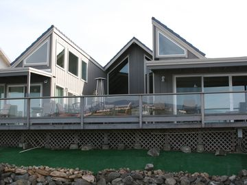 Discovery Bay house rental - View of the house from the water