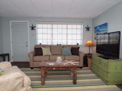 Port Aransas condo rental - Living Area
