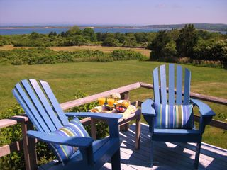 Chilmark house photo - Perfect spot for coffee...reading ...or cocktails